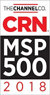 CRN MSP 500 Award Winner, 2018